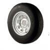 "Wheel Galvanised 13""x 5"" - Tyre 195/50R13"