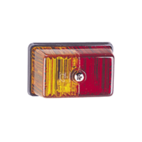 NARVA Lamp - Side Marker - Amber/Red