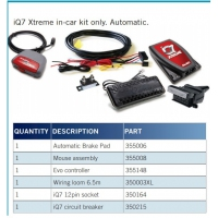 ALKO iQ7 Xtreme - Car Kit Only - Auto Pedal