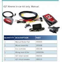 ALKO iQ7 Xtreme - Car Kit Only - Manual Pedal