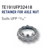 "EZ Loader Stub Axle Nut - 1 1/8"" AF Locking Retainer"