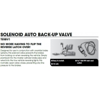 CM Hydraulic Brake Fitting - Solenoid Auto Back up Valve