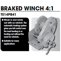 CM Braked Safety Winch 4:1