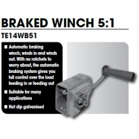 CM Braked Safety Winch 5:1
