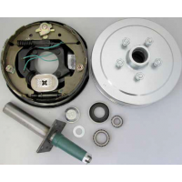 "CM Electric Drum Brake - Axle Kit 10"" - 1500kg"