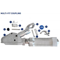 CM Multi-Fit Coupling - Parts