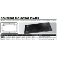 CM Coupling - Weld on Mount Plate