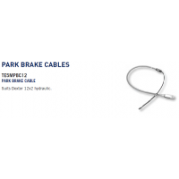 Dexter Brake Drum - Park Brake Cable