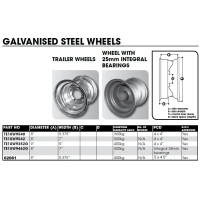 "CM Wheel Galvanised 8"" & 9"""