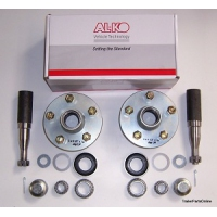 AL-KO Hub Stub & Bearing Axle Kit - 1500kg LM - 39mm Dia Axle