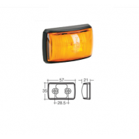 LED Marker Lamp - Model 14 - Amber - Front/Side Marker