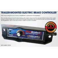 Trailer Mounted - MagBrake 3+ Electric Brake Controller