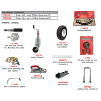 Trojan Trailer Kit - Single Axle 1500kg