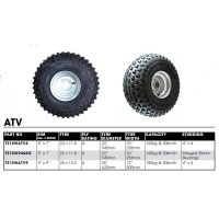 CM Wheel & Tyre Assemblies - ATV Galvanised