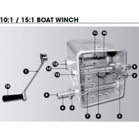 CM Winch Spares - 1:1 - Narrow Body