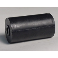 115mm L Marin X Side Roller Black Nylon