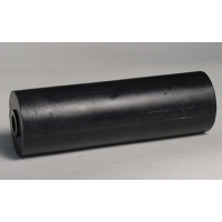 200mm L Marin X Side Roller Black Nylon