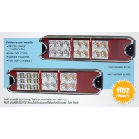 CM LED Tail Lamp Kit - Combo BL190 MV - Slimline