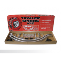 Trojan Slipper Spring Kit - Taper Leaf - 45mm wide - Long