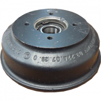 BPW Brake Drum 4 Stud 200x50 with Compact Bearing - S2005-7 RASK