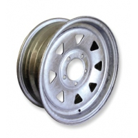 "CM Wheel Galvanised 16""x 6"" - 4WD - Rim Only"