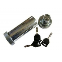 AL-KO Coupling - Euro Hitch - Stronghold Security Lock - AKS3004 - Replacement Pin & Keys