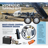 CM Trailer Kit - Hydraulic Tipping - 1250mm