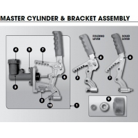CM Override Coupling - Master Cyl & Bracket  Parts