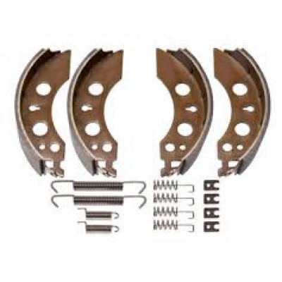 ALKO Euro Brake Shoe - 2051 - Brake Shoe Axle Kit