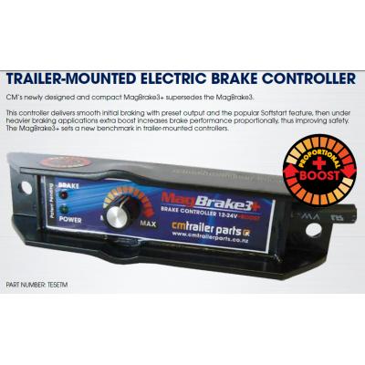 Trailer Mounted Brake Controller, Trailer Electric Brake Wiring Kit