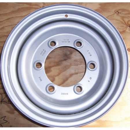 "Euro Wheel Painted 16""x 6J\"" - Rim Only"