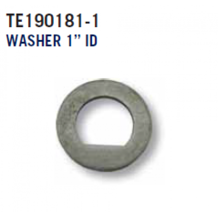 "EZ Stub Axle Washer - 1"" Flat D"