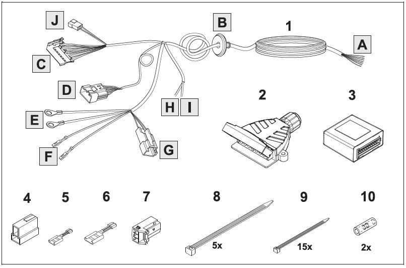 toyota prado trailer plug wiring diagram