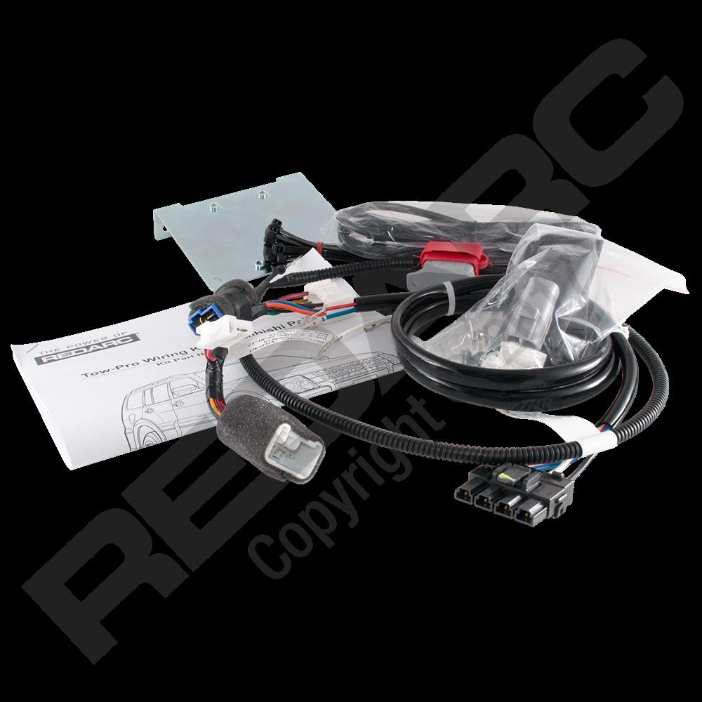 Redarc Tow-Pro - Wiring Kit - Mitsubishi Pajero- ALKO iQ7 ...