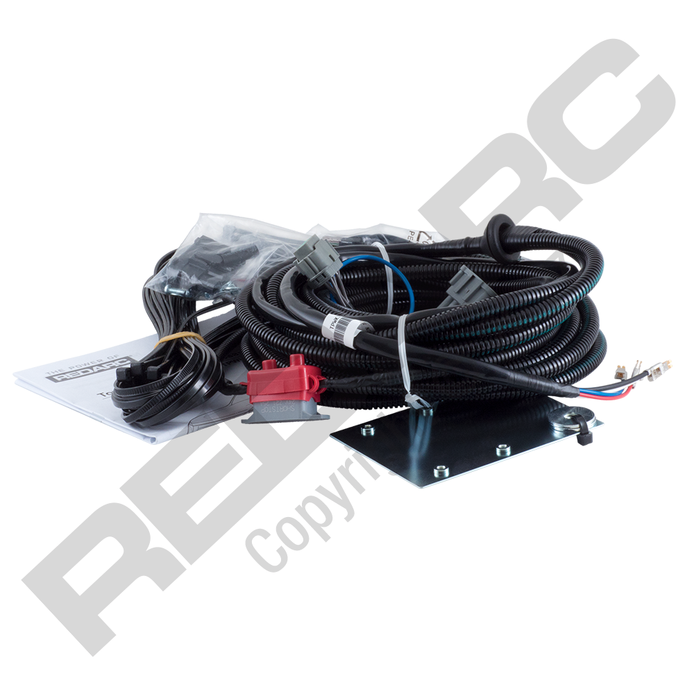 Redarc Tow Pro Wiring Kit Nissan Navara Alko Iq7