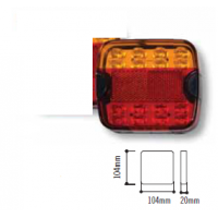 CM LED Tail Lamp - Combo BL100 MV