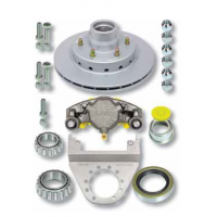 "DeeMaxx Hyd Disc Brake - Retrofit Kit 12"" - Suit USA 5000lb Axle"