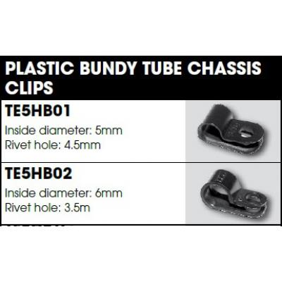 CM Hydraulic Brake Fitting - Bundy Tube Plastic Mounting Clips