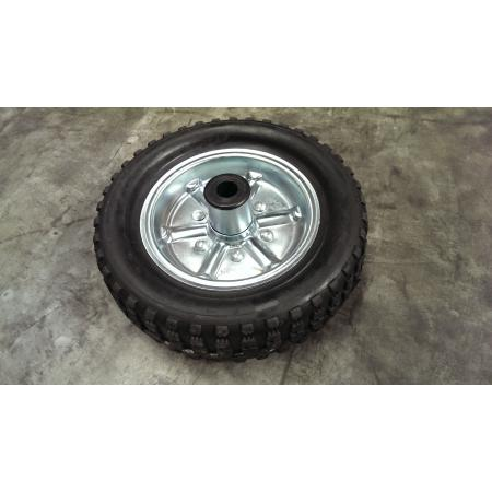 Alko Jockey Wheel 250mm Steel Amp Solid Rubber Tyre Al Ko