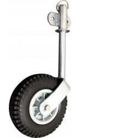 Cm Jockey Wheel Removable 215mm Rubber Wheel Cm
