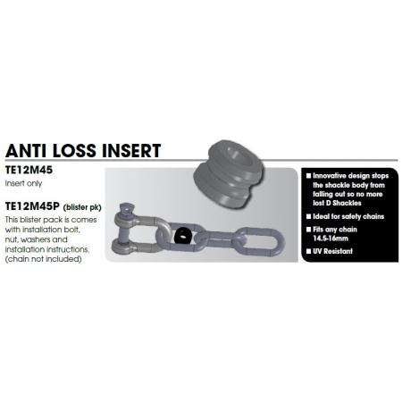 CM Trailer Safety Chain - Anti loss Insert